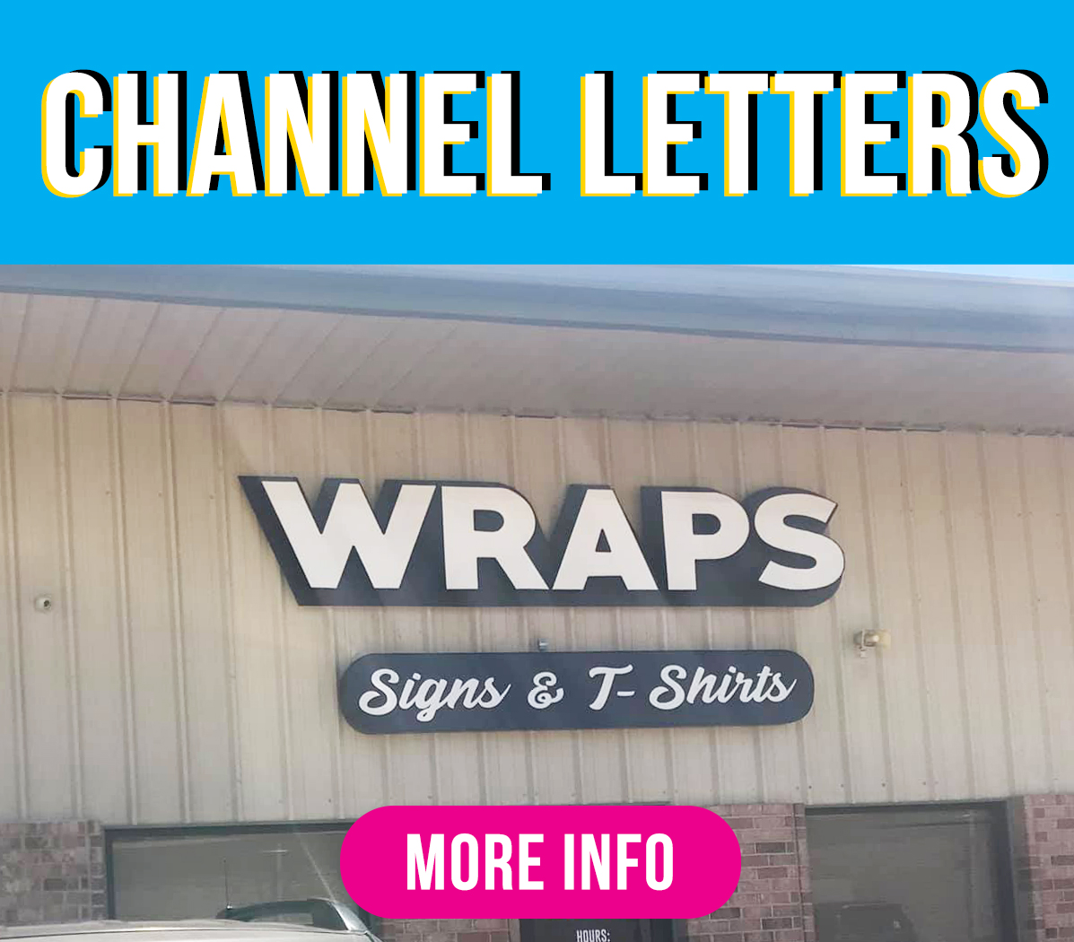 Channel Letters Green Mango Graphics
