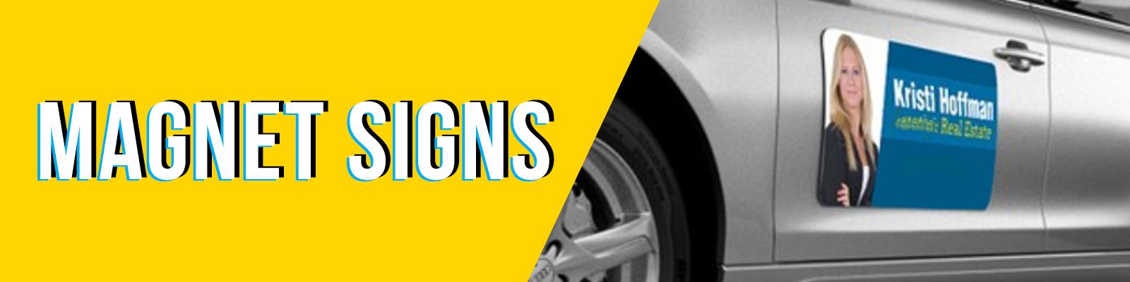 Magnet Signs Green Mango Graphics