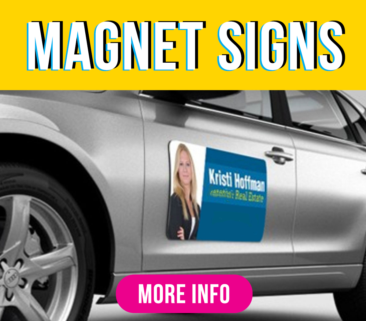 Magnetic Signs Green Mango Graphics