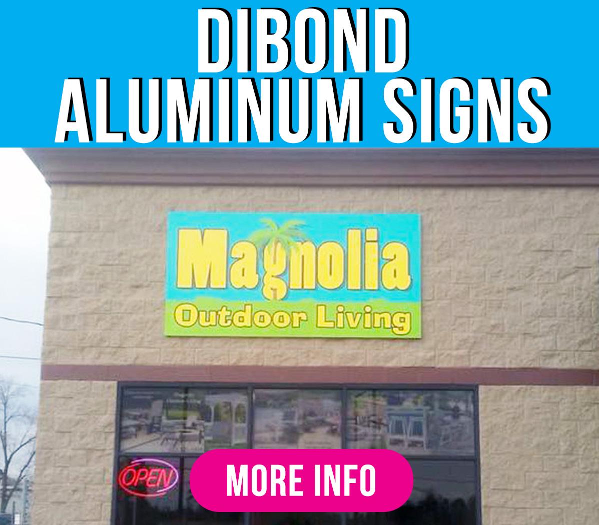 Dibond Aluminum Green Mango Graphics