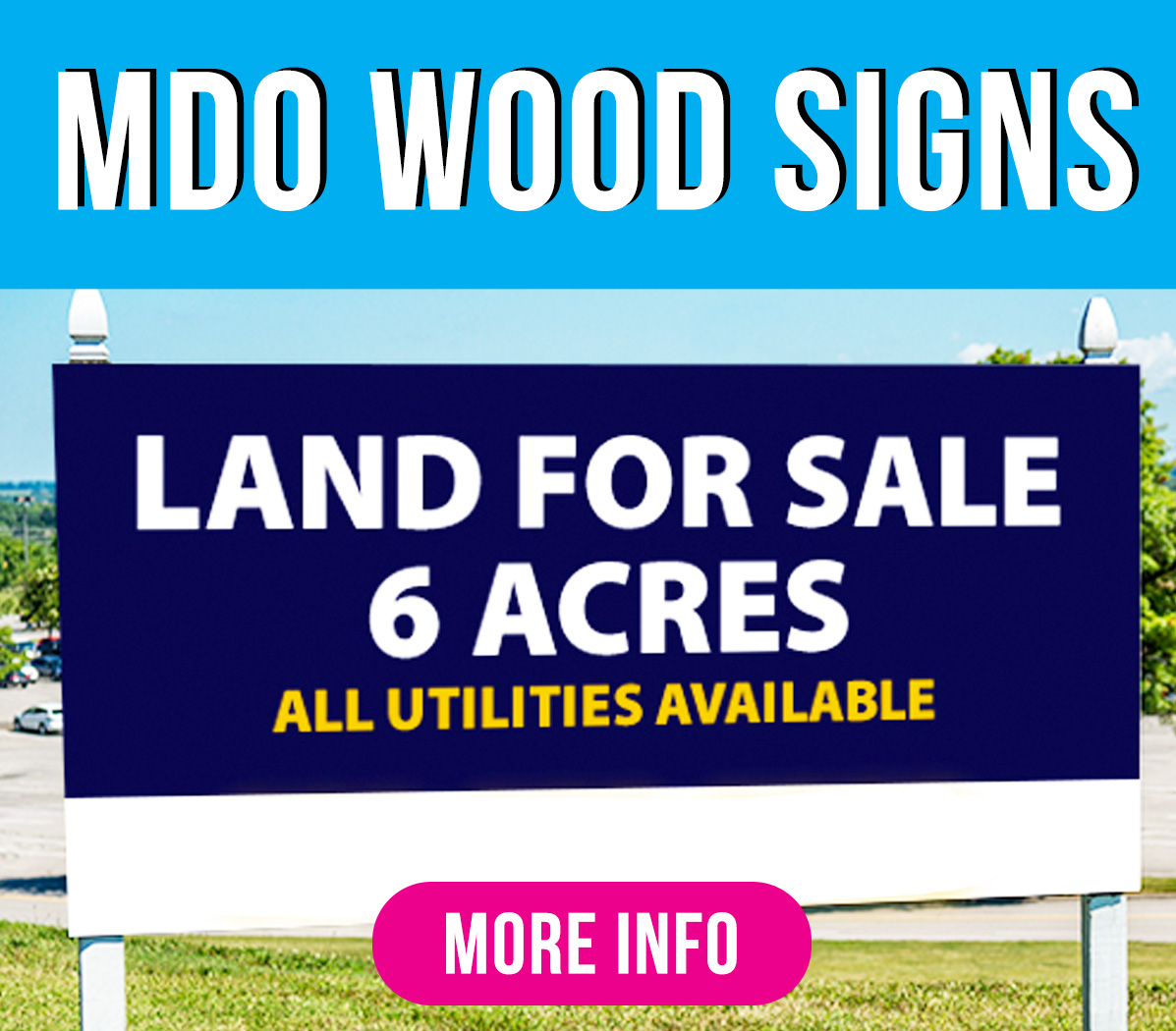 MDO Wood SignsGreen Mango Graphics